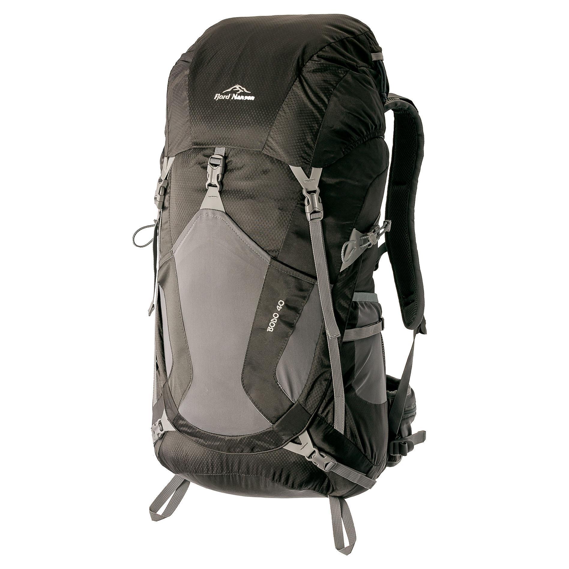 551058f32e Ορειβατικά σακίδια πλάτης Fjord Nansen Bodo 40 black plecak ...