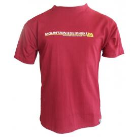 Oρειβατικά T-Shirt Mountain equipment Statement Red