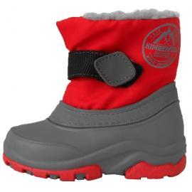Απρέ σκι παιδικά μποτάκια χιονιού Kimberfeel Mackay Red