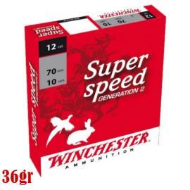 Φυσίγγια κυνηγιού συγκέντρωσης Winchester Super Speed 36gr