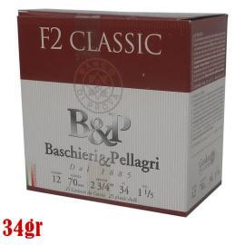 Φυσίγγια κυνηγιού συγκεντρωτικά B&P F2 Classic 34gr
