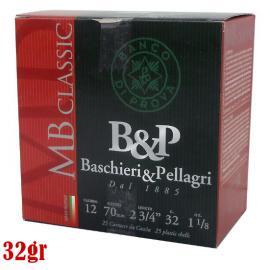 Φυσίγγια κυνηγιού συγκέντρωσης B&P MB Classic 32gr