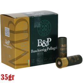Φυσίγγια κυνηγιού συγκέντρωσης B&P MB Extra 35gr