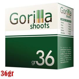 Φυσίγγια κυνηγιού συγκέντρωσης Gorilla 36gr