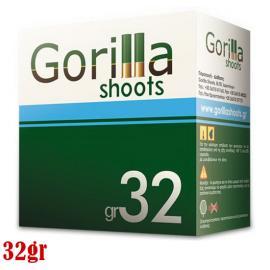 Φυσίγγια κυνηγιού συγκέντρωσης Gorilla Blue 32gr