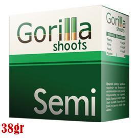 Φυσίγγια κυνηγιού συγκέντρωσης Gorilla Semi Magnum 38gr