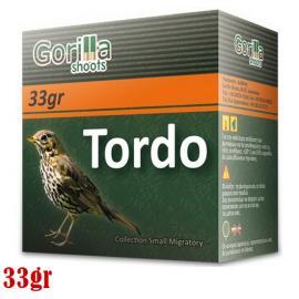 Φυσίγγια κυνηγιού συγκεντρωτικά Gorilla Tordo 33gr