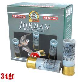 Φυσίγγια κυνηγιού διασποράς Jordan 34gr