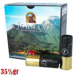 Φυσίγγια κυνηγιού συγκέντρωσης Jordan Μαύρο 35,5gr