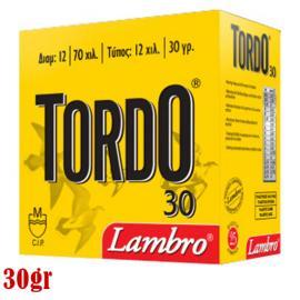 Φυσίγγια κυνηγιού συγκέντρωσης Lambro Tordo 30gr