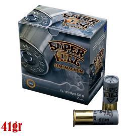 Φυσίγγια κυνηγιού συγκεντρωσης SuperKill Semi-Magnum 41gr