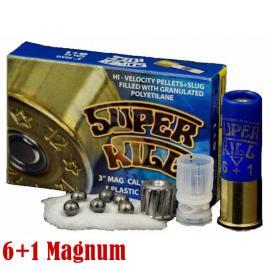 Φυσίγγια κυνηγιού Superkill 6+1 Magnum