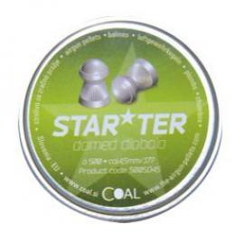 Σκάγια αεροβόλου Coal Starter Domed 4,5mm 1002062