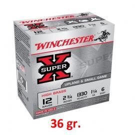 Φυσίγγια κυνηγιού συγκέντρωσης Winchester Super X 36gr