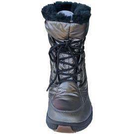 Γυναικείες μπότες χιονιού απρέ σκι Styl Grand 3202 07 Plomb