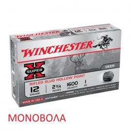 Φυσίγγια κυνηγιού μονόβολα Winchester Super X Foster