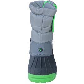 Απρέ σκι παιδικές μπότες χιονιού Kefas 3805 05 Snowy Grey-Green