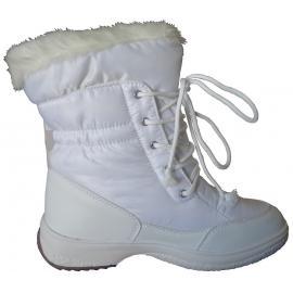 Γυναικείες μπότες χιονιού απρέ σκι Kefas Gaiya 3222-12 White