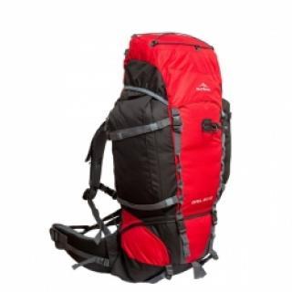 Ορειβατικά σακίδια πλάτης Fjord Nansen Himil 60+10 red black