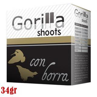 Φυσίγγια κυνηγιού μάλλινη τάπα Gorilla Con Bora 34gr
