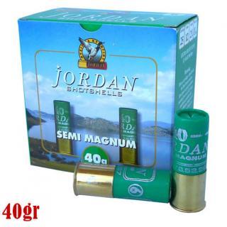 Φυσίγγια κυνηγιού συγκεντρωτικά Jordan Semi Magnum 40gr