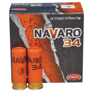 Φυσίγγια κυνηγιού συγκέντρωσης Navaro 34gr