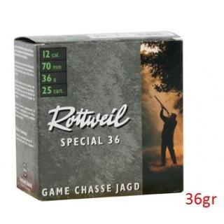 Φυσίγγια κυνηγιού συγκέντρωσης Rottweil Special 36gr