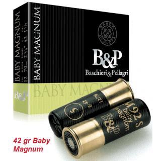 Φυσίγγια κυνηγιού συγκέντρωσης B&P Baby Magnum 42gr