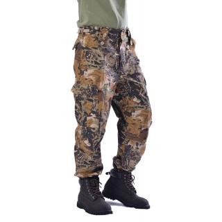 Κυνηγετικά παντελόνια παραλλαγής φυλλωσιάς