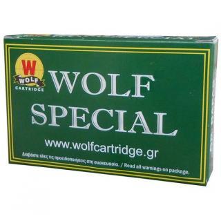Φυσίγγια κυνηγιού μηδενικά (νούλες) Wolf