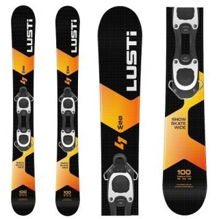 Fun ski Lusti Snow Skate Wide (Snow Blade) + Binding